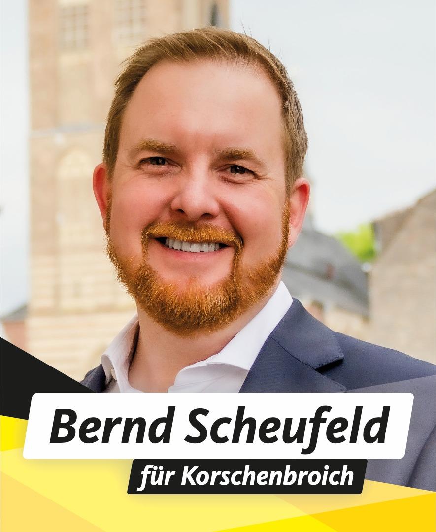 Für Sie im Stadtrat Bernd Scheufeld