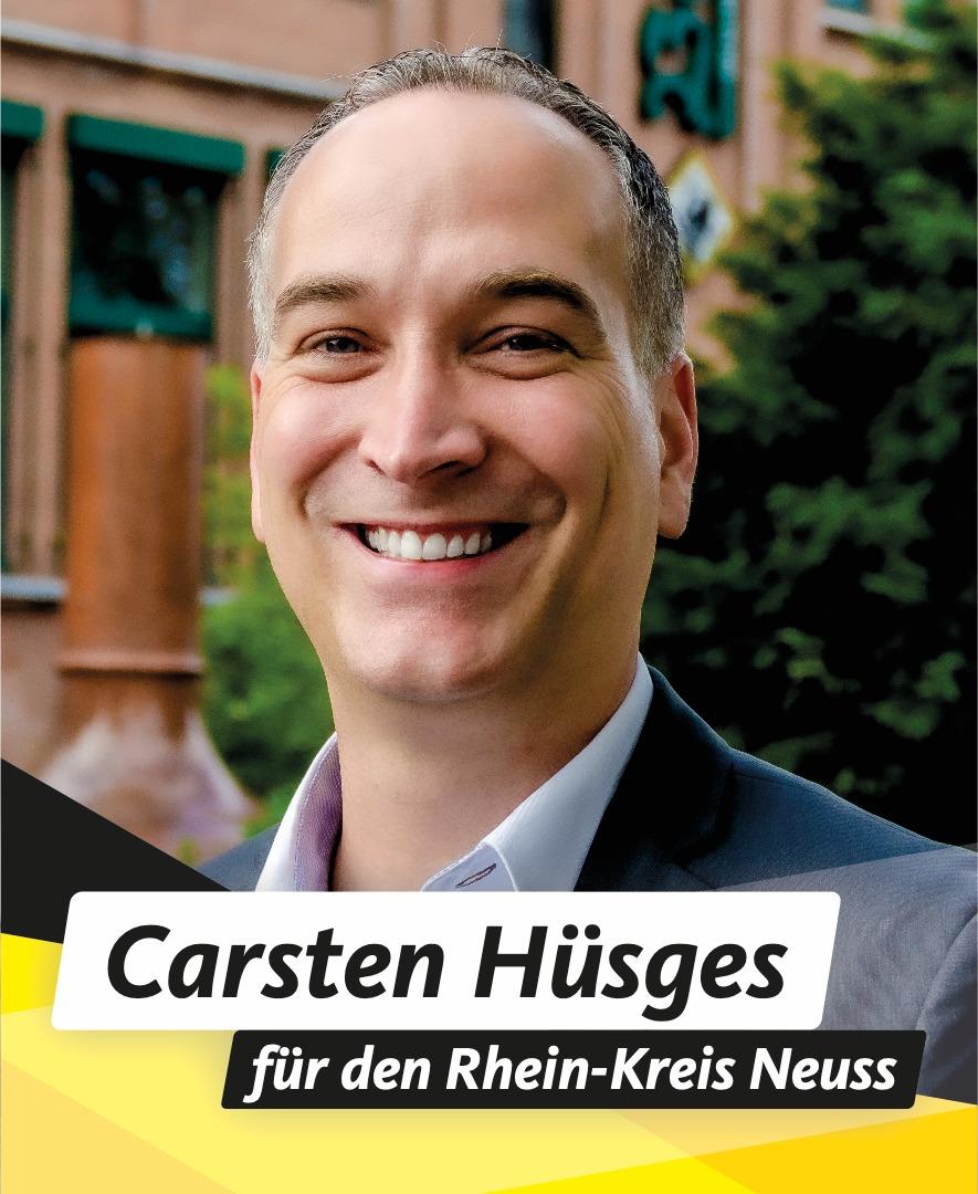 Für Sie im Kreistag Carsten Hüsges