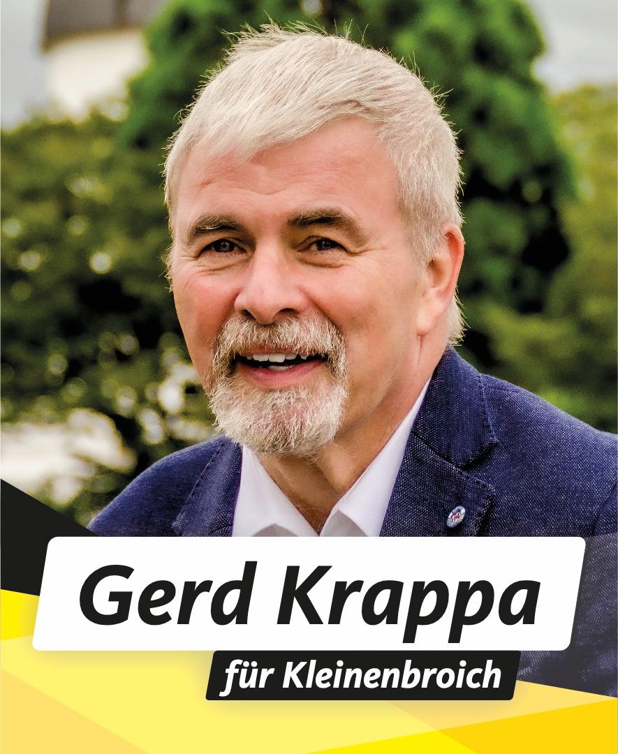 Für Sie im Stadtrat Gerd Krappa