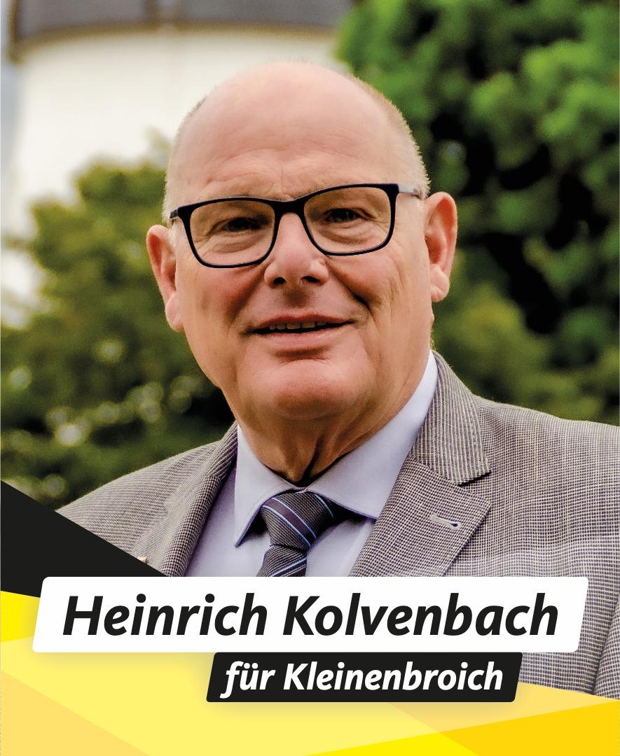 Für Sie im Stadtrat Heinrich Kolvenbach