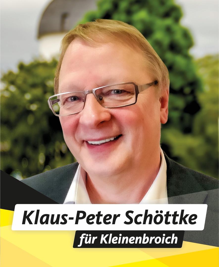 Für Sie im Stadtrat Klaus-Peter Schöttke