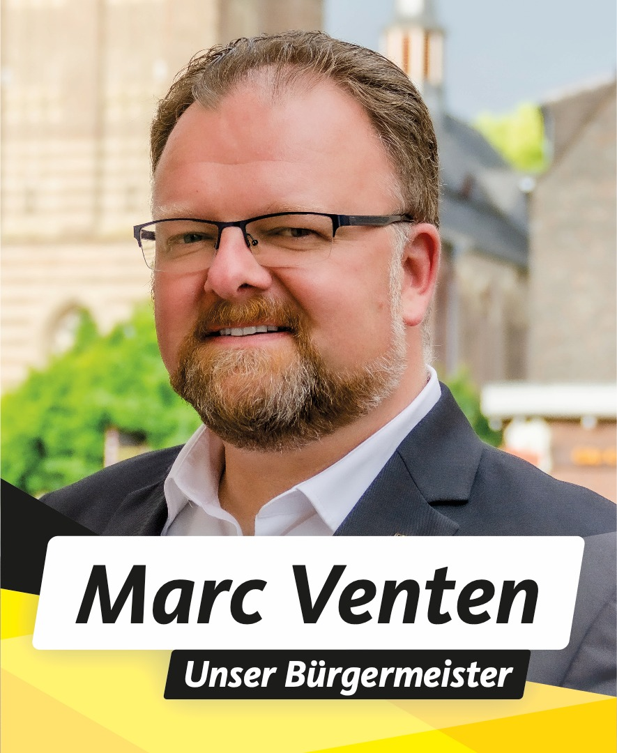 Marc Venten Ihr Bürgermeisterkandidat für Korschenbroich