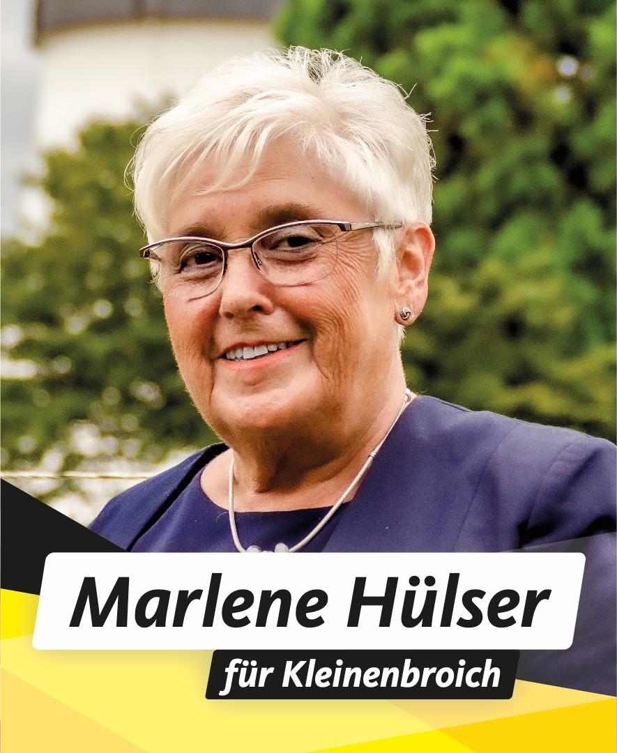 Für Sie im Stadtrat Marlene Hülser