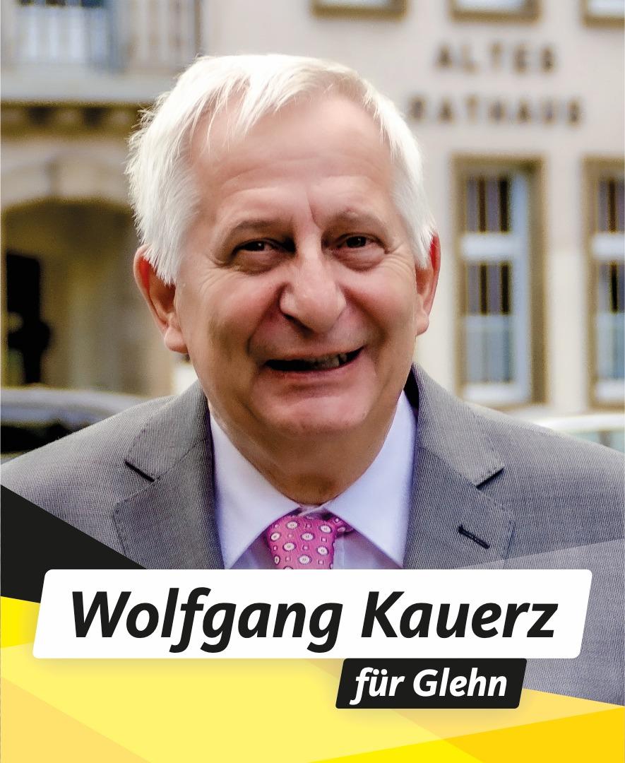 Für Sie im Stadtrat Wolfgang Kauerz