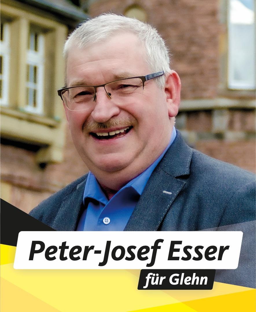 Für Sie im Stadtrat Peter-Josef Esser