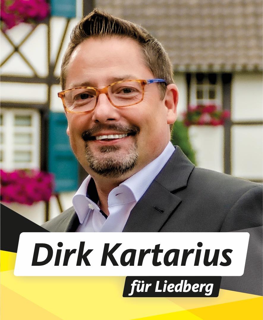 Für Sie in den Stadtrat Dirk Kartarius