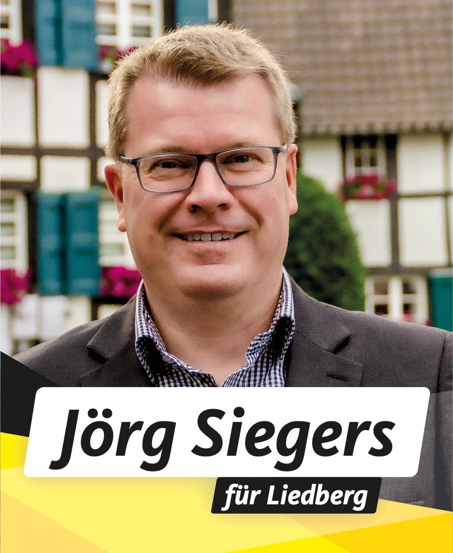 Für Sie in den Stadtrat Jörg Siegers