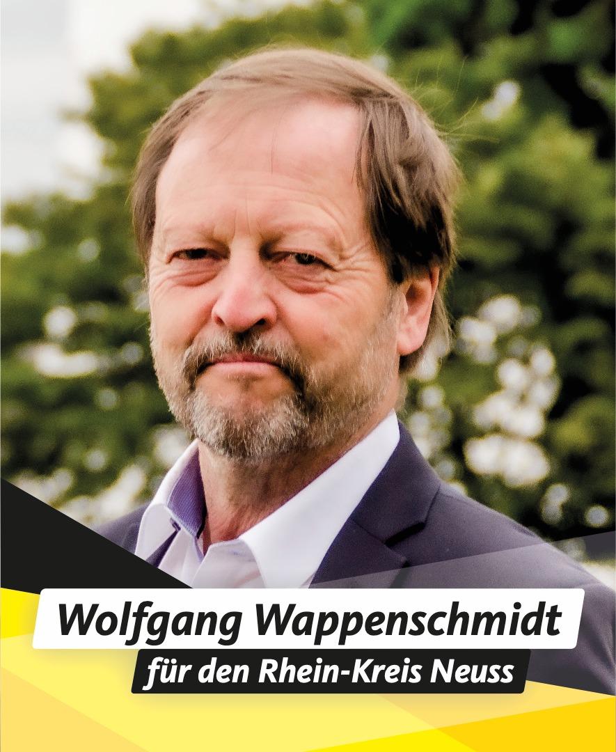 Für Sie im Kreistag Wolfgang Wappenschmidt
