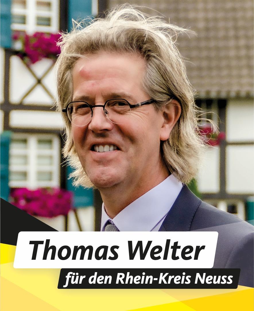Für Sie in den Kreistag Thomas Welter