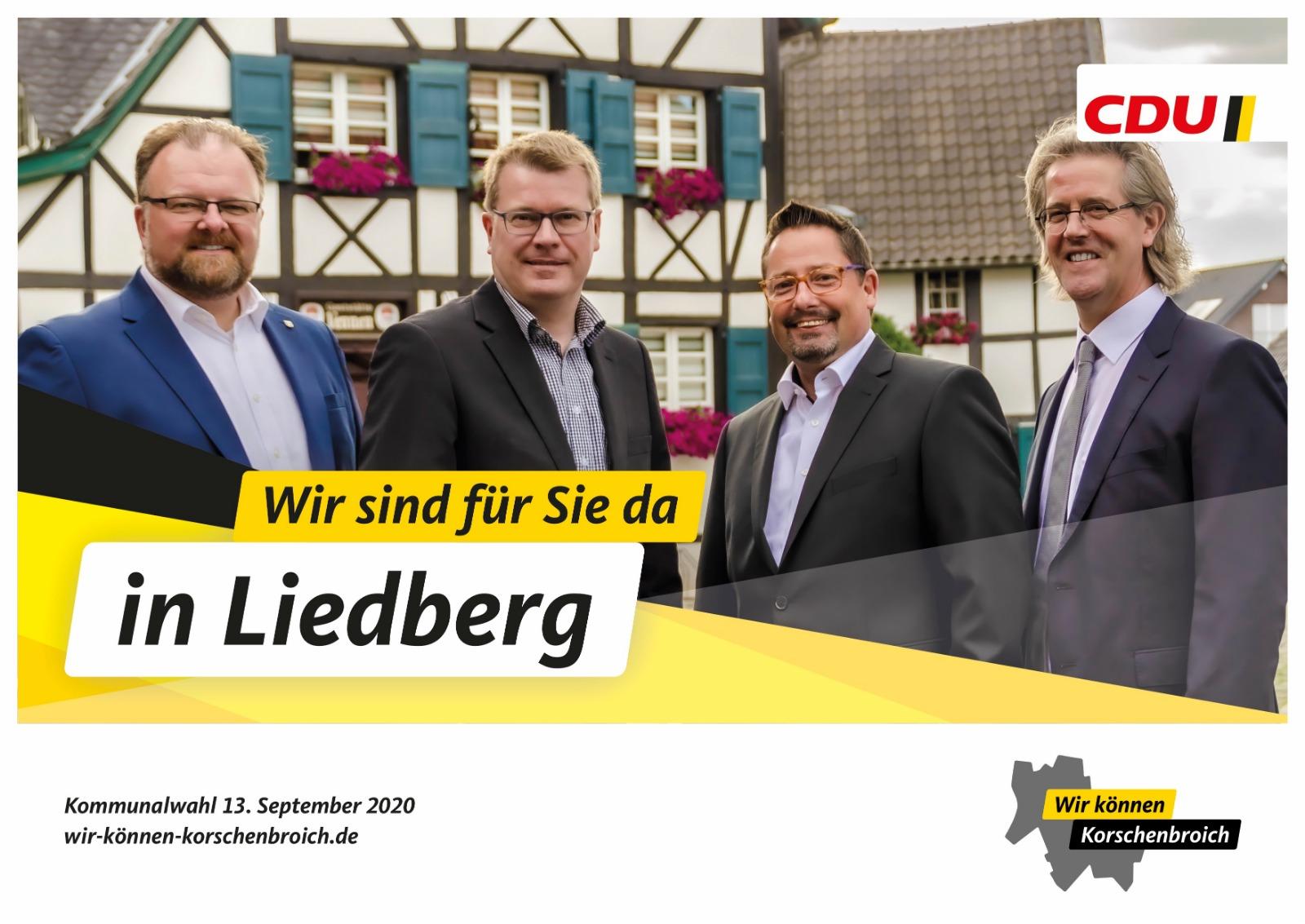 Wir sind für Sie da in Liedberg